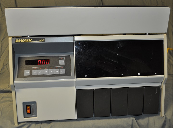 Magner 100 Coin Counter Magner 100 Coin Sorter